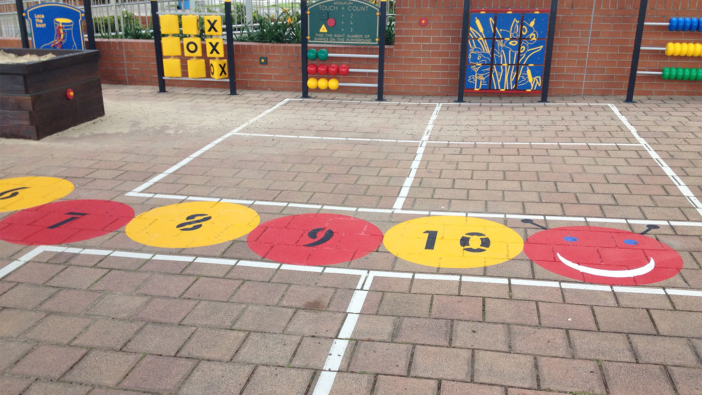 Playgrounds linemarking